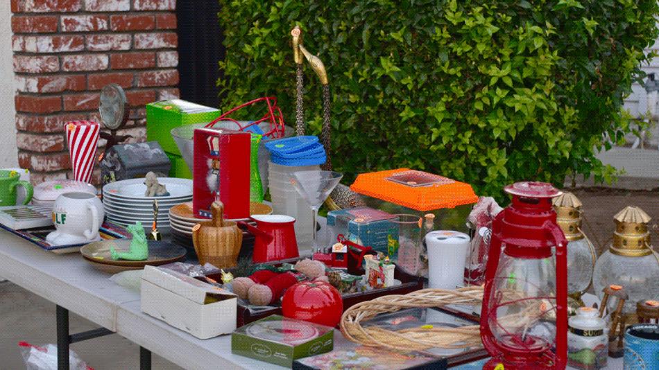 Garage Sale Plus Self Storage Equals Spring Cleaning Success